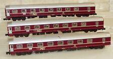3x Roco 2278 A Schlafwagen TEN WLABsm Spur N