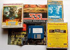 Champions of Krynn SSi AD&D Commodore Amiga Ovp UK English + Poster
