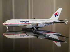 **RARE** Gemini Jets 1:400 Malaysia MAS Airbus A380 (1990's Colors)