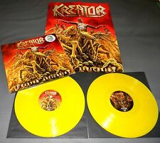 KREATOR - PHANTOM ANTICHRIST (GERMAN ORIGINAL 1st. PRESS/ YELLOW VINYL) 2LP
