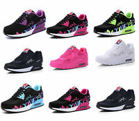 Ladies Running Air Max Trainers Womens Shock Absorbing Fitness Gym Sports Shoes