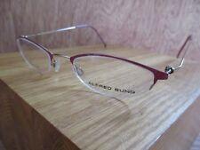 cb41cc9d875 Alfred Sung 4345 Midnite Half Rim Eyeglasses Frame Japan