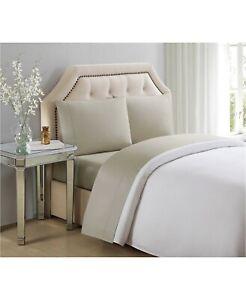 Charisma Ultra Cotton Sateen 610 Thread Count 4-Pc Solid Queen Sheet Set Bedding