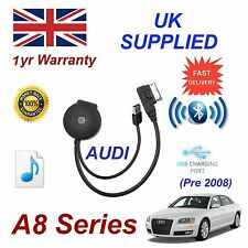 For AUDI A8 Bluetooth USB Music Streaming Module MP3 iPhone HTC Nokia LG Sony 08