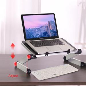 Laptop Stand Holder Riser Computer Tablet Stand Adjustable Aluminum Ergonomic