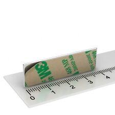 50 NEODYM Magnete selbstklebend 40x12x1 mm - 2,7 KG