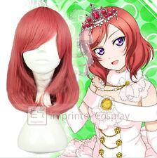 Love Live! Maki Nishikino Wig Fake Hair Cosplay Prop FREE P&P