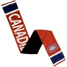 Montreal Canadiens Jersey Polyester Scarf NHL with Zipper Pocket