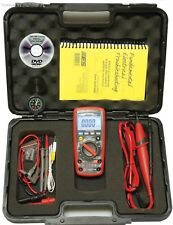 ESI Electronic Specialties TMX-589 True RMS Digital Multimeter TECH METER KIT