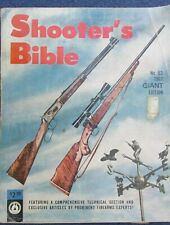 1962 Shooter's Bible No 53 Edition Stoeger 576 Pages VG