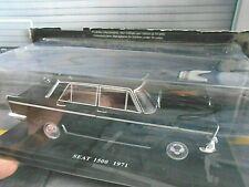 Seat (español Fiat) 1500 sedán 1971 azul oscuro Blue fabbri 1:24