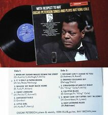 LP Oscar Peterson Sings and Play Nat King Cole