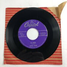 Merrill Moore -  It's A One Way Door / Yes, Indeed 45 RPM Record Capitol F3140