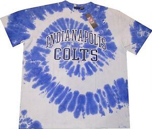 Indianapolis Colts NFL Team Apparel Men's Tie Dye Shirt