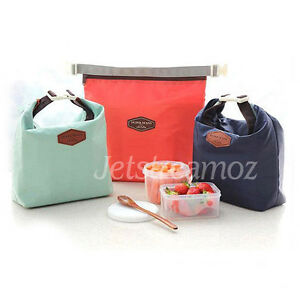 New Insulated Pouch Bag Cool Bag Cooler Lunch Box Bag Nursing