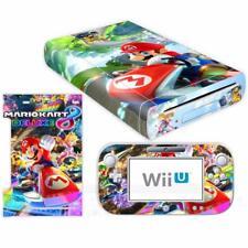 Mariokart 8 Vinyl Skin Decal Sticker Cover for Nintendo Wii U Console Controller