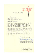 ROSEMARY SURCOUF signed 1967 TLS letter AL HIRT