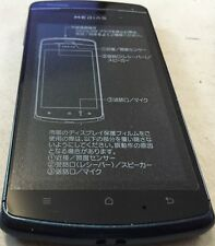 Smartphone Android N-01D Medias NTT DOCOMO Black Kitted Water Resistant - Japan