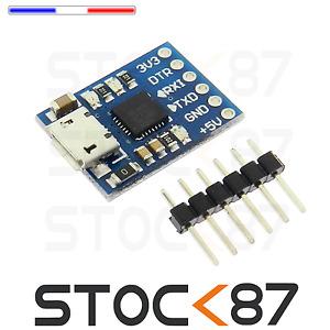 5273#  CP2102 MICRO USB to UART TTL Module 6Pin convertisseur série STC