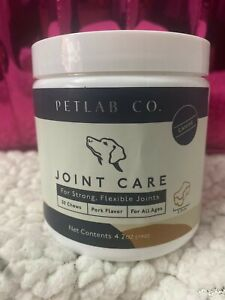 Petlab Co. Joint Care Chews for Dogs Arthritis Soft Chew Dog Hip free shipping🚛