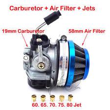 Carby Carburetor Air Filter Jets 50 60 80cc 2 stroke Motorized Bicycle Push Bike