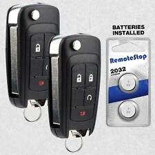 2 For 2010 2011 2012 2013 2014 2015 2016 Chevrolet Equinox Remote Flip Key Fob