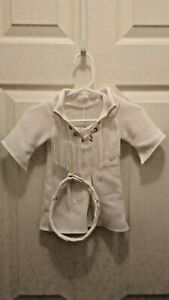 Vermont Teddy Bear Company Clothing One Piece White Stretch Elvis Jumpsuit