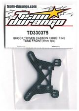 RC Team Durango TD330375 Carbon Fiber Shock Tower DEX410 DEX410R v3 v4 v5 Buggy