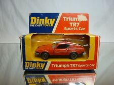 DINKY TOYS 211 TRIUMPH TR7 SPORTS CAR - RED 1:43 - GOOD CONDITION IN BOX