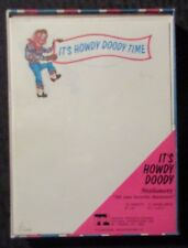 1971 It's HOWDY DOODY Time Stationary 48 Sheets 12 Envelopes Unused