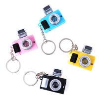 1PCS Camera Keyring Lucky Cute Charm Camera Keychain New Gift XE