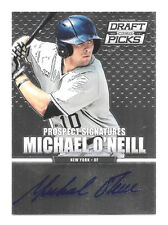 2013 Michael O'Neill Panini Prizm Draft Picks Rookie Auto - New York Yankees