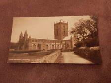 1950s Judges postcard - St Davids cathedral -Pembrokeshire Wales