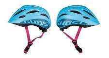 GHOST Kids Helmet - in blau/pink - Größe 52-56 cm - Kinder-Fahrradhelm