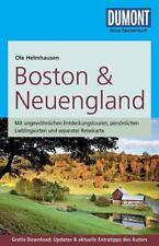 DuMont Reise-Taschenbuch Reiseführer Boston & Neuengland von Ole Helmhausen (2017, Taschenbuch)