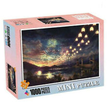 1000X Mini Jigsaw Puzzle Gorgeous Fireworks Assembling Kids Educational Game Toy