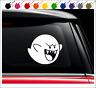 Boo Mario Bros Decal Vinyl Car Truck Sticker Luigis Mansion king Nintendo Ghost