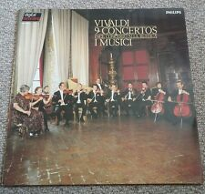 I MUSICI*PHILIPS DIGITAL 6514 371*MADE HOLLAND*VIVALDI 9 CONCERTOS*NM