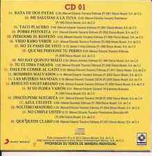 ultra rare CD 80's PAQUITA LA DEL BARRIO rata de 2 patas TACO PLACERO viejo rabo