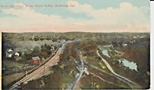 Early 1900's Bird's Eye View, White Water Valley at Richmond, IN Indiana PC