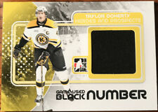 2010-11 ITG Heroes & Prospects Game Used Jerseys Black Taylor Doherty #M-46