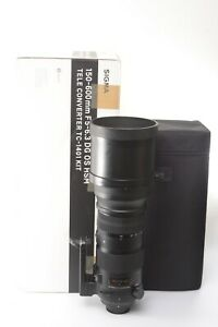 Sigma 150-600mm f/5-6.3 DG OS HSM Sport Lens for Nikon - Boxed with Lens Hood