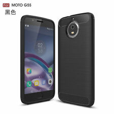 Motorola moto G5S Plus/G5S+ Mobile Phone Smartphone cubierta de silicona-Negro