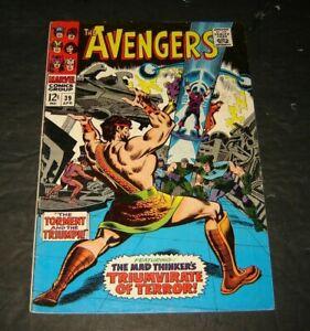 Avengers #39, April 1967, FN Hercules, The Mad Thinker
