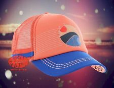 New Roxy Dig This Coral Trucker Mesh Snapback Cap Hat