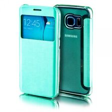 SmartCover Fenêtre Vert pour Samsung Galaxy S7 G930 G930F COQUE PROTECTRICE
