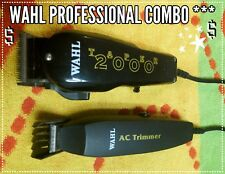 WAHL Taper 2000 BLACK & YELLOW Professional Hair Clipper COMBO!!!((( WS-40)))