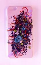 """Cover Case Guscio Rigido iPhone 6 6S Plus 5.5"""" Graffiti Disegni Bianco White"""