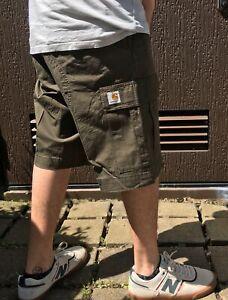 Carhartt WIP Regular Cargo Bermuda Short kurze Hose Herren grün