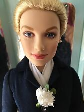 "Franklin Mint Princess Grace 16"" Vinyl Doll in ""Arrivial in Monaco Ensemble +Tag"